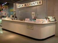 チェックインカウンター (発券所)